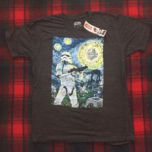 Star Wars brand new shirt large black